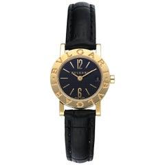 Bvlgari Classic BB 23 GL 18 Karat Yellow Gold Ladies Watch