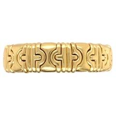 Bvlgari Classic Parentesi 18k Yellow Gold Bracelet