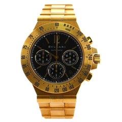 Bvlgari Diagono Professional Pro Terra Chronograph Automatic Watch Yellow Gold40