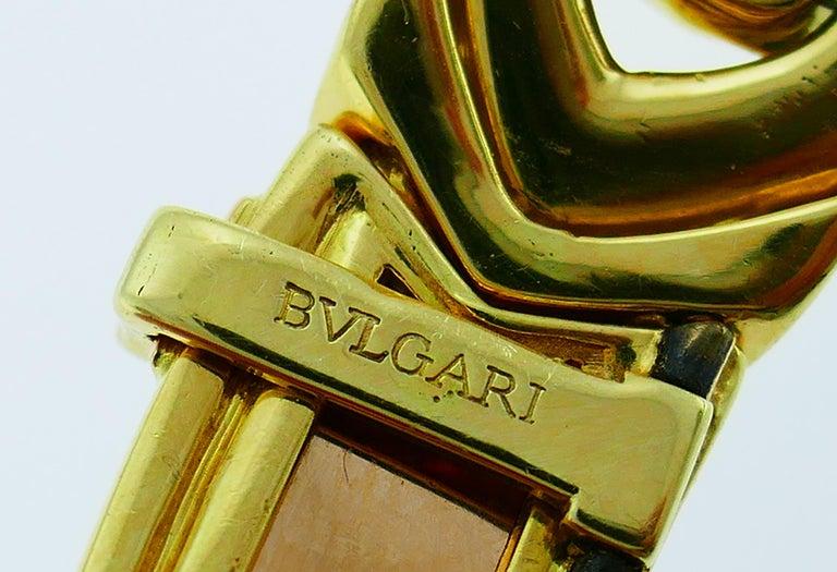 Bvlgari Diamond Yellow Gold Necklace Bulgari For Sale 3