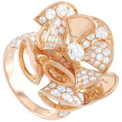 Bvlgari Divas' Dream 18 Karat Rose Gold 3.20 Carat Diamond Ring