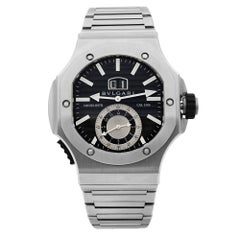 Bvlgari Endurer Daniel Roth Chronosprint Black Dial Automatic Mens Watch 101877