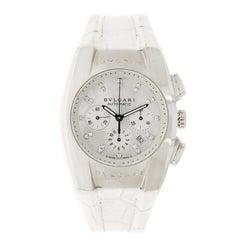 Bvlgari Ergon Chronograph Stainless Steel Wristwatch