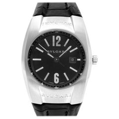 Bvlgari Ergon EG30S, Black Dial, Certified and Warranty