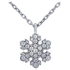 Bvlgari Fiocco di Neve Snowflake Diamond Necklace
