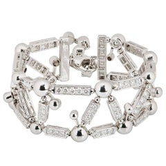 Bvlgari Fireworks Collection Diamond Bracelet