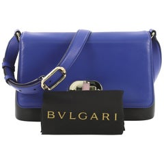 Bvlgari Icona Shoulder Bag Leather Medium