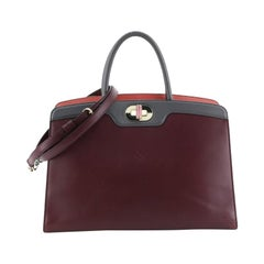Bvlgari Isabella Rossellini Tote Leather Medium