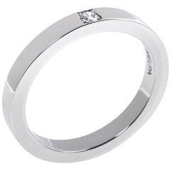Bvlgari MarryMe Diamond Platinum Wedding Band Ring Size 52