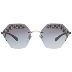 Bvlgari Mint Women Black Sunglasses BV6103 20288G57 57-17-138 mm