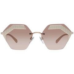 Bvlgari Mint Women Gold Sunglasses BV6103 20131457 57-17-139 mm
