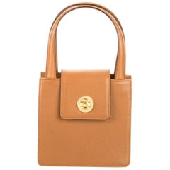 Bvlgari Mjni Leather Handbag