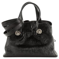 Bvlgari Monete Tote Patent Medium