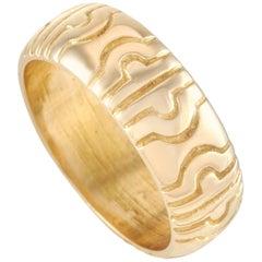 Bvlgari Parentesi 18 Karat Yellow Gold Ring