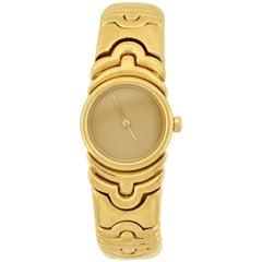 Bvlgari Parentesi 18 Karat Quartz Movement Watch Bracelet