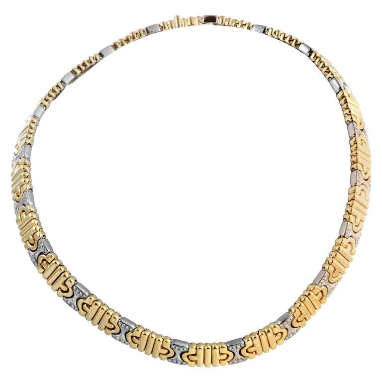 Bvlgari Parentesi Diamond Necklace