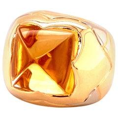 Bvlgari Pyramid Ring in Yellowgold 750