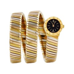 Bvlgari Serpenti BB191T, Gold Dial, Certified and Warranty