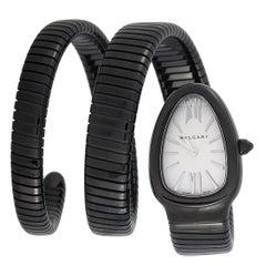 Bvlgari Serpenti Black PVD Watch SP35S