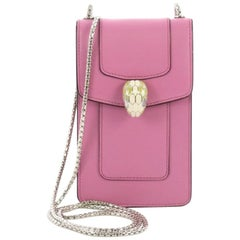 Bvlgari Serpenti Forever Wallet on Chain Leather Vertical