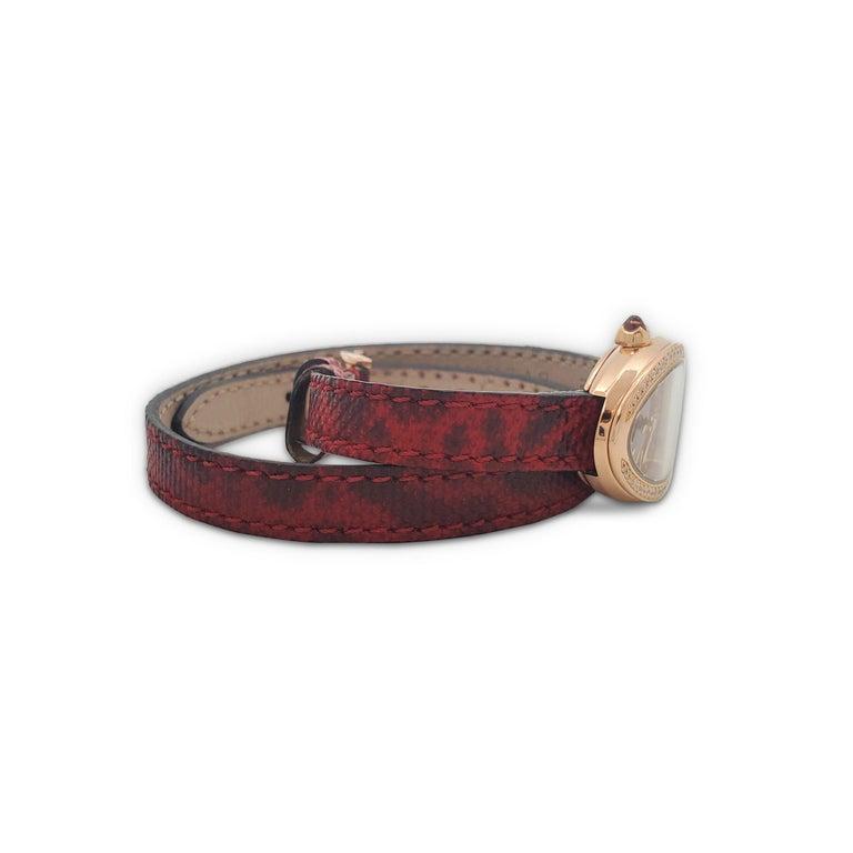 Women's or Men's Bvlgari Serpenti Skin Watch For Sale