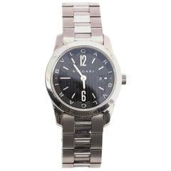 Bvlgari Solo Tempo Quartz Watch Stainless Steel 30