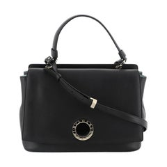 Bvlgari Top Handle Bag Leather Small