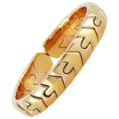 Bvlgari Vintage 18 Karat Yellow Gold Bracelet