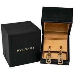 Bvlgari Yellow Gold Earrings