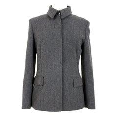 Byblos Gray Soft Classic Slim Fit Jacket