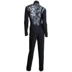 Byblos Jumpsuit with Lace Back