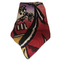 Byblos multicoloured silk tie