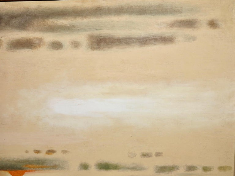 Provincetown Beach (abstract seascape painting) For Sale 1