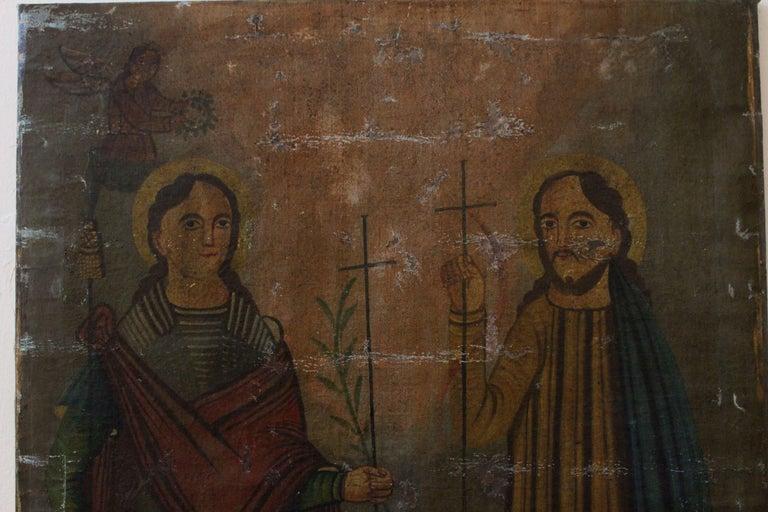 Balkan Byzantine Art Icon For Sale