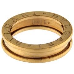 Bzero1 Ring 18 Karat Pink Gold 1 Band