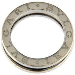 BZERO1 Ring 18 Karat White Gold 1 Band