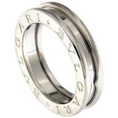 BZERO1 Ring 18 Karat White Gold 3 Band