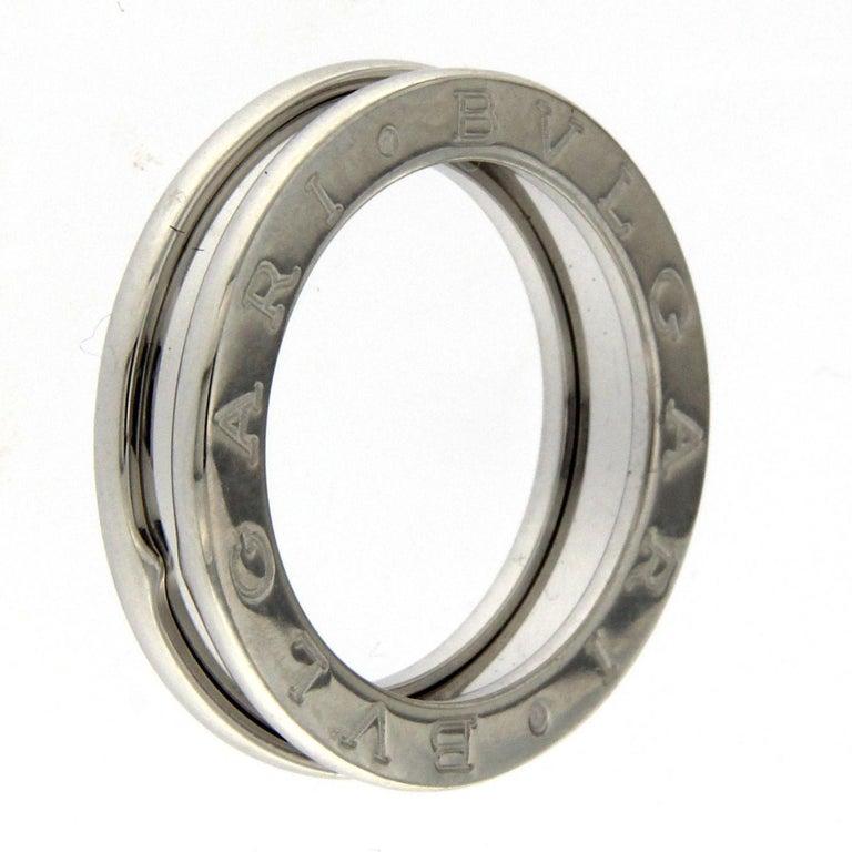 BZERO1 Ring 18 Karat White Gold 3 Band For Sale 2