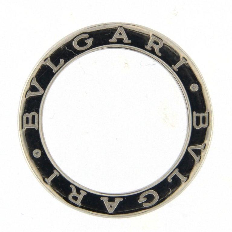 BZERO1 Ring 18 Karat White Gold 1 Band For Sale 5