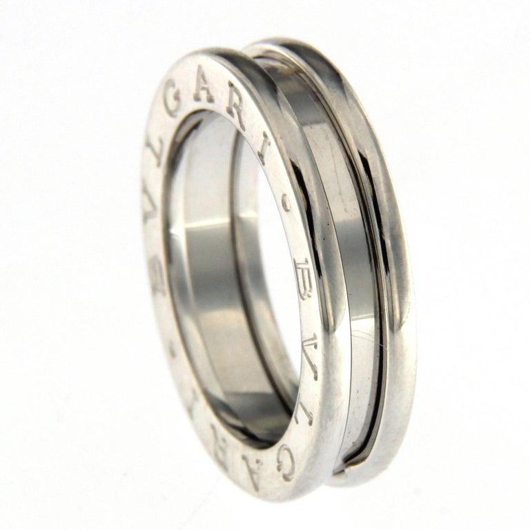 BZERO1 Ring 18 Karat White Gold 1 Band For Sale 1