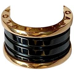 B.Zero1 Ring by Bulgari in Rose Gold