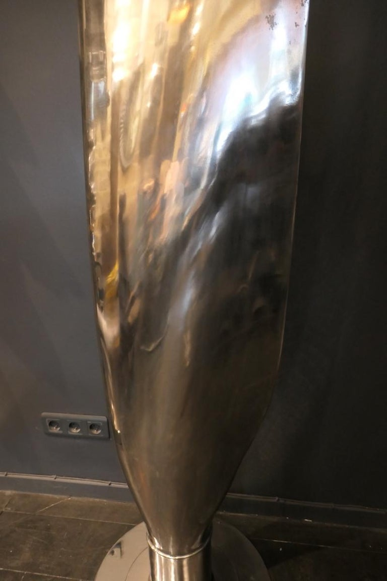 C-130 Tall Propeller Blade Manufactured by Hamilton Standard In Fair Condition For Sale In saint ouen, FR
