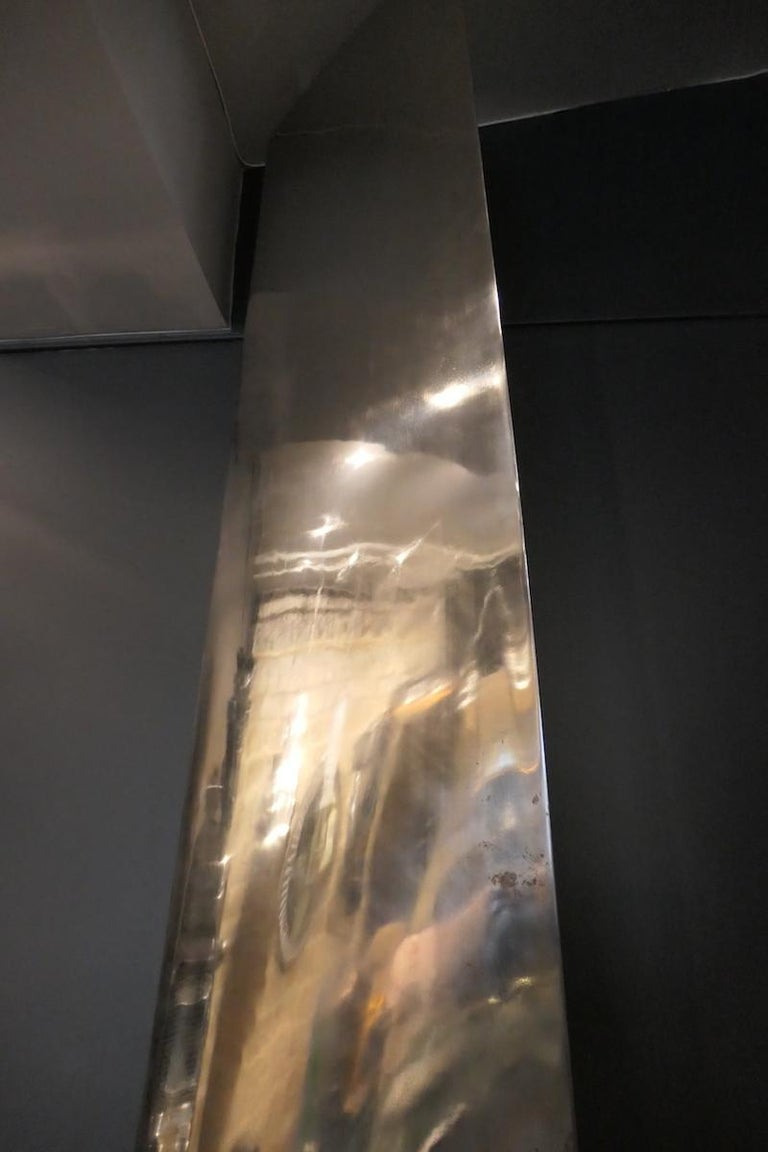 Aluminum C-130 Tall Propeller Blade Manufactured by Hamilton Standard For Sale