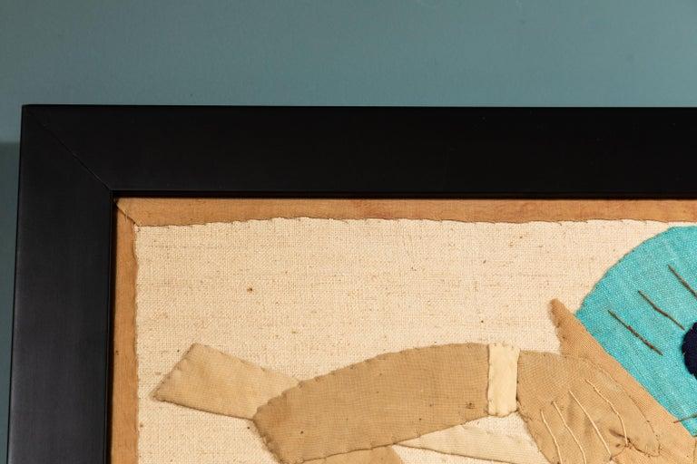 Egyptian Revival Textile Panel, circa 1920s For Sale 3