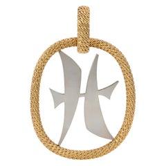 c. 1975 Patek Phillippe Gold Pisces Pendant