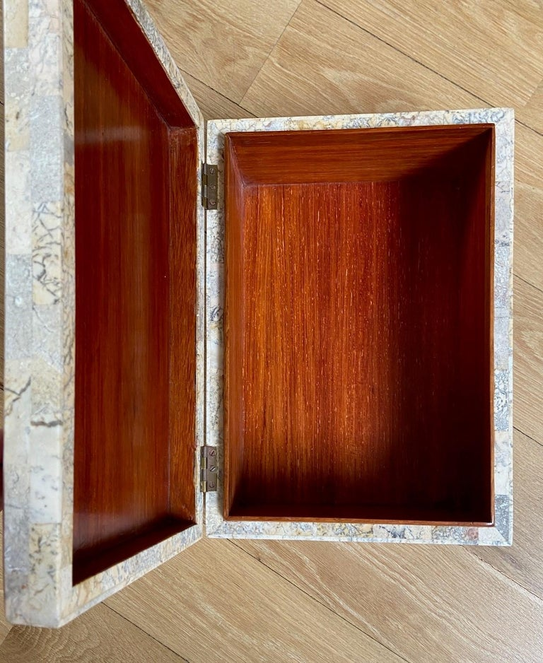 Maitland Smith Box, circa 1980s In Good Condition For Sale In Los Angeles, CA