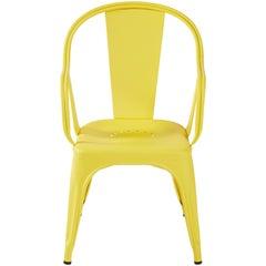 C Armchair in Yellow by Xavier Pauchard & Tolix