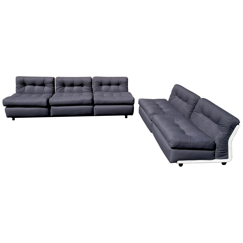 C & B Italia 'Amanta' Sofa and Love Seat, by Mario Bellini