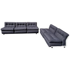C & B Italia 'Amanta' Sofa and Love Seat, by Mario Bellini