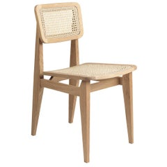 C Chair Dining Chair, French Cane, Natural Oak